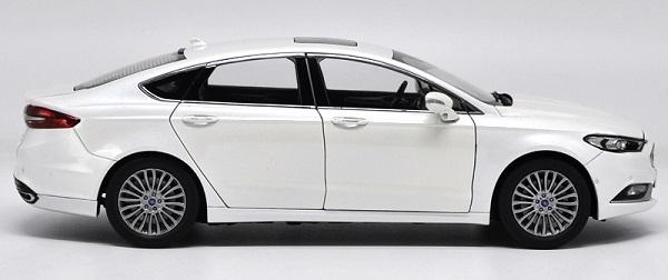 โมเดลรถ โมเดลรถเหล็ก โมเดลรถยนต์ Ford Mondeo 2017 ขาว 5