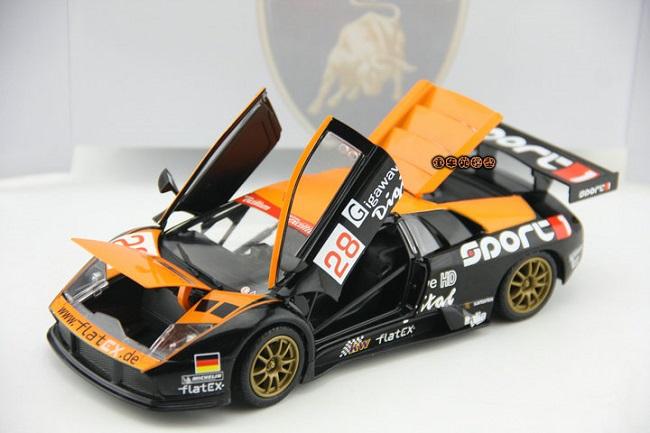 โมเดลรถ โมเดลรถยนต์ โมเดลรถเหล็ก Lamborghini LP670-4 #22 5