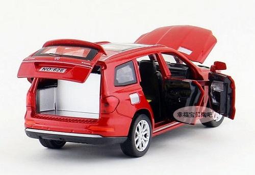 โมเดลรถเหล็ก โมเดลรถยนต์ Benz GL500 5