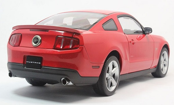 โมเดลรถ โมเดลรถเหล็ก โมเดลรถยนต์ Ford GT 2010 red 4