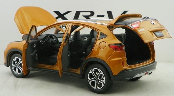 โมเดลรถ โมเดลรถเหล็ก โมเดลรถยนต์ Honda XRV ส้ม 4