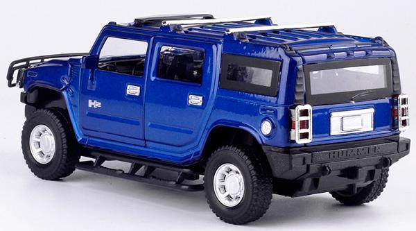 โมเดลรถเหล็ก โมเดลรถยนต์ Hummer h2 5