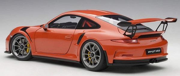 โมเดลรถ โมเดลรถยนต์ โมเดลรถเหล็ก Autoart Porsche 911 991 GT3 RS 2