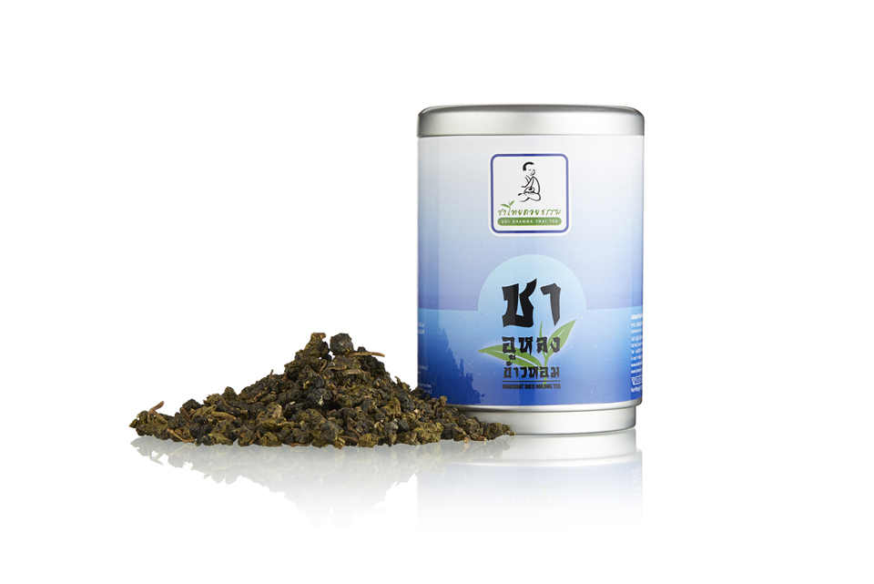 ชาอูหลงข้าวหอม Fragrant Rice Oolong Tea (100g)