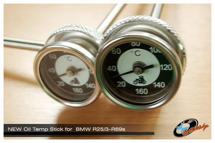 ไม้วัดน้ำมันเครื่อง แบบวัดอุณหภูมิ สำหรับ BMW R26-R27 ของใหม่ๆ สั่งมาจากเยอรมันครับท่าน