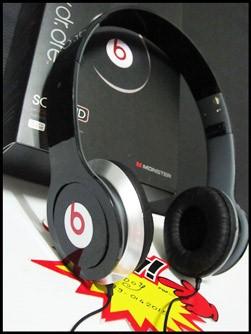 ใหม่!! Monster Beats Studio (Headphone) สีขาว+ชมพู