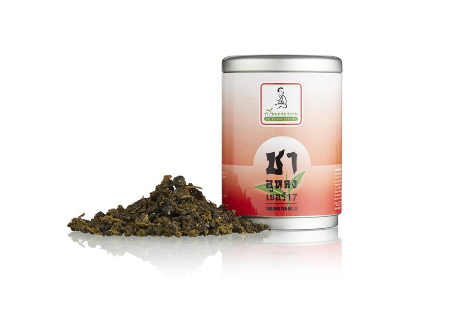 ชาอูหลงก้านอ่อน[เบอร์17] Oolong Tea No.17 (100g)