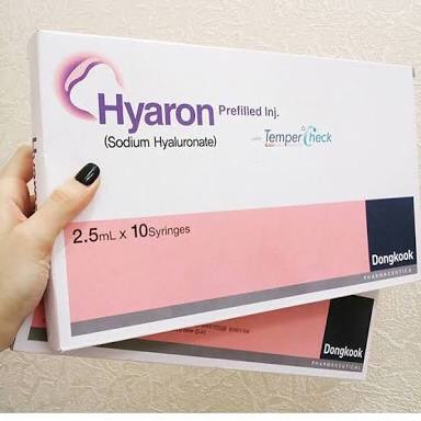 Hyaron (Sodium Hyaluronate) Prefilled Inj. Doogkook (Korea) ฟิลเลอร์ ไฮยารอน รักษาริ้วรอยลึก จากเกาหลี