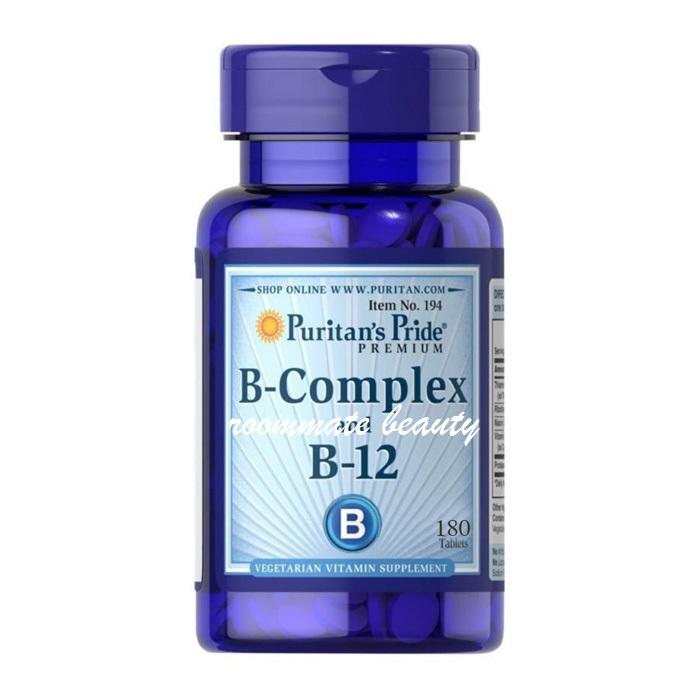 Puritan's Pride - Vitamin B-Complex And Vitamin B-12