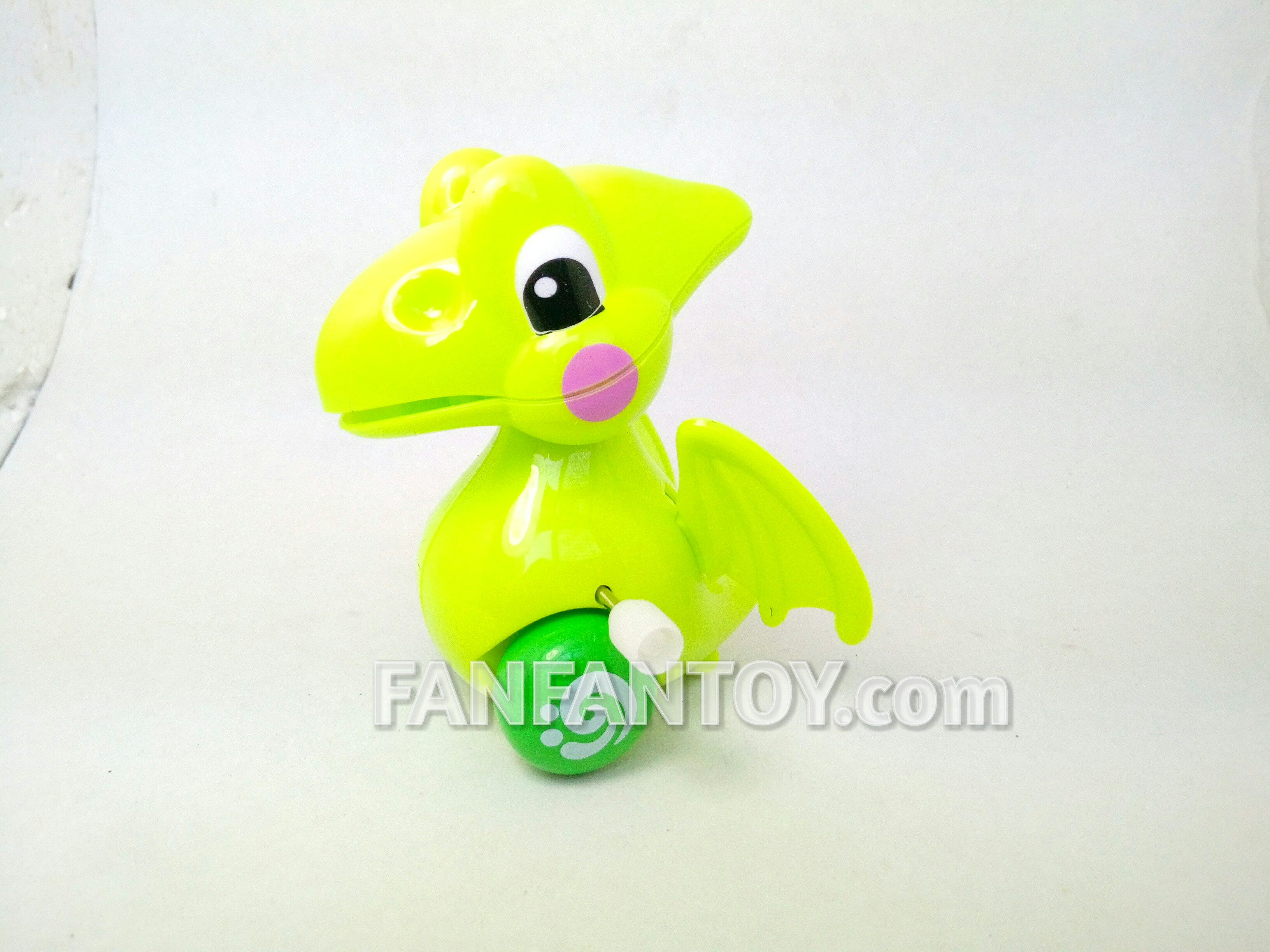 มังกรไขลาน สีเขียว