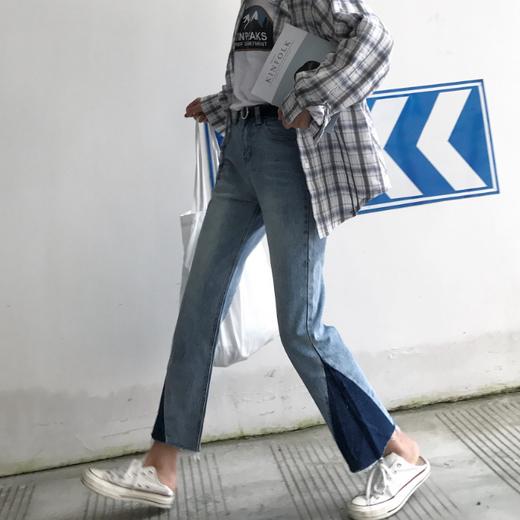 กางเกงยีนส์แฟชั่นเกาหลี