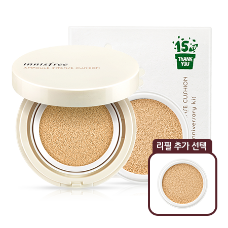 INNISFREE AMPOULE INTENSE CUSHION + Refill