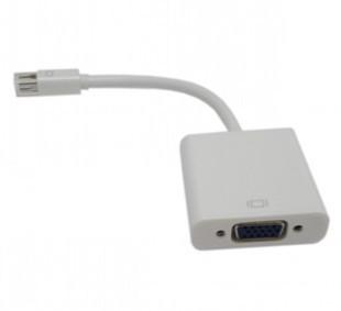 สายแปลง mini DP to VGA ( Apple mini display port เป็น VGA )