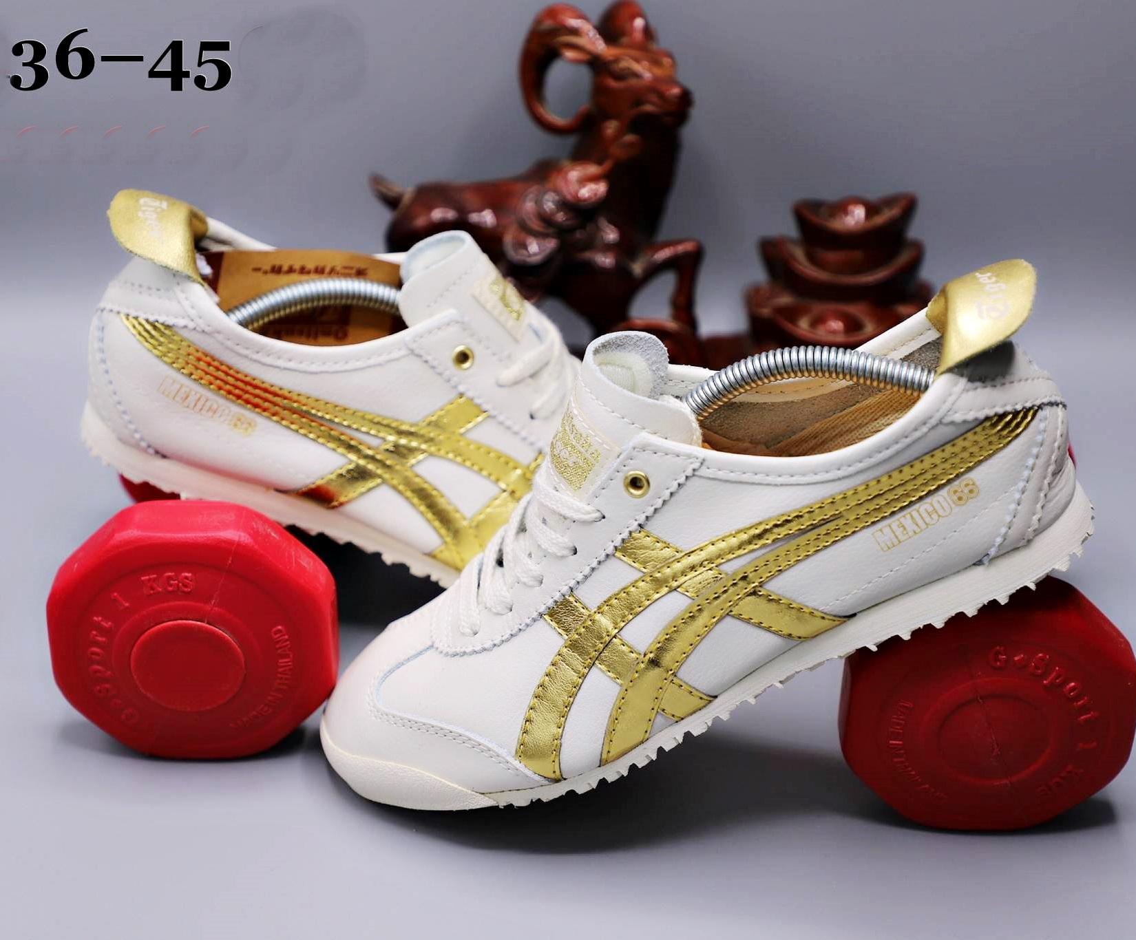 รองเท้า Onitsuka Tiger รุ่น Mexico66 เกรด4A หนังแท้ size 36-45