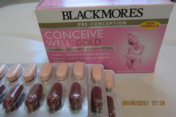 Blackmores Conceive Well Gold อาหารเสริม บำรุงครบถ้วน เพื่อเตรียมตัวตั้งครรภ์ 1รอบเดือน 28เม็ด+28แคปซุล ++SALES 990 > 790บาท++
