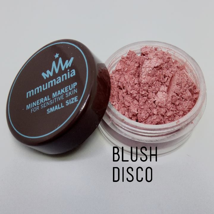 ขนาดเล็ก MMUMANIA Mineral Makeup Blush : Satin สี Disco