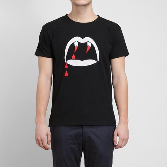เสื้อยืดSaint Laurent Blood Luster T-shirt ใส่ได้ทั้งชาย-หญิง