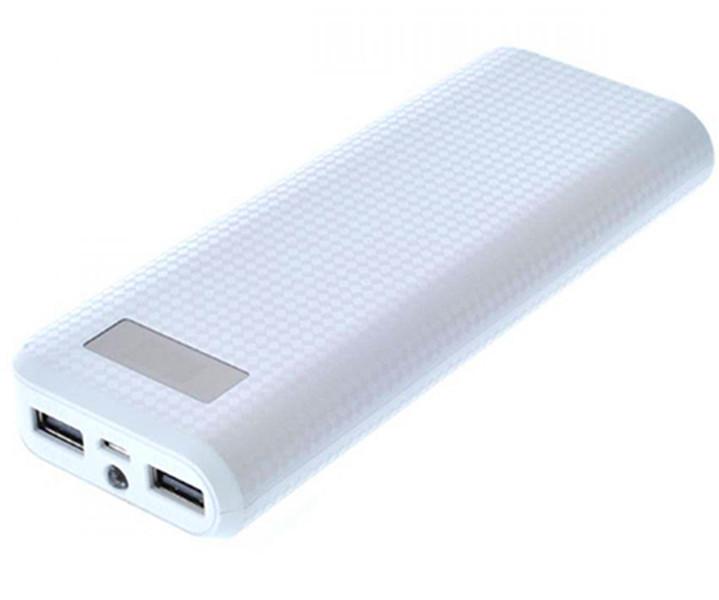 Remax PRODA powerbankแบตเตอรี่สำรอง 20000mah มีหน้าจอ-white