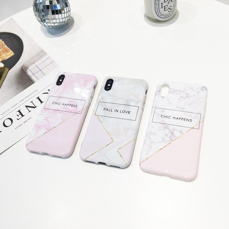 Marble TPU Case iPhone 7 Plus/ 8 Plus
