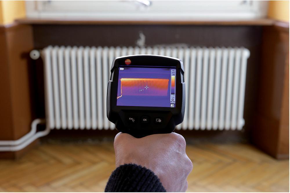 Thermal Imager Thermoscan Infrared Camera กล้องถ่ายภาพความร้อน รุ่น Testo 869 ย่านอุณหภูมิ-20-280 °Cความละเอียด160 x 120 pixels