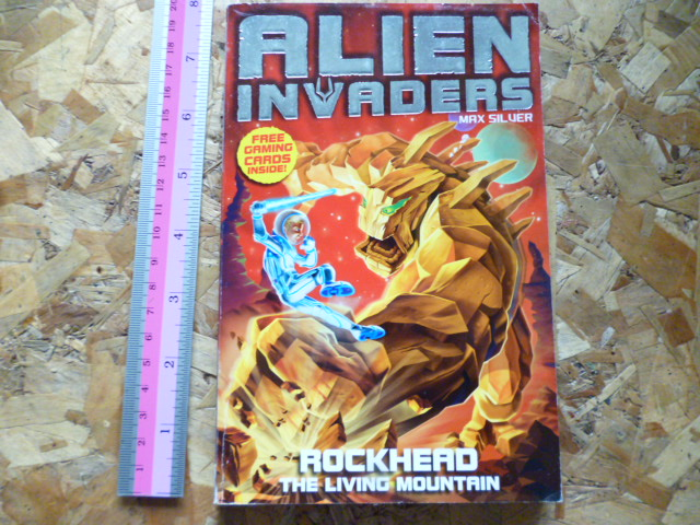 Alien Invaders 1: Rockhead the Living Mountain