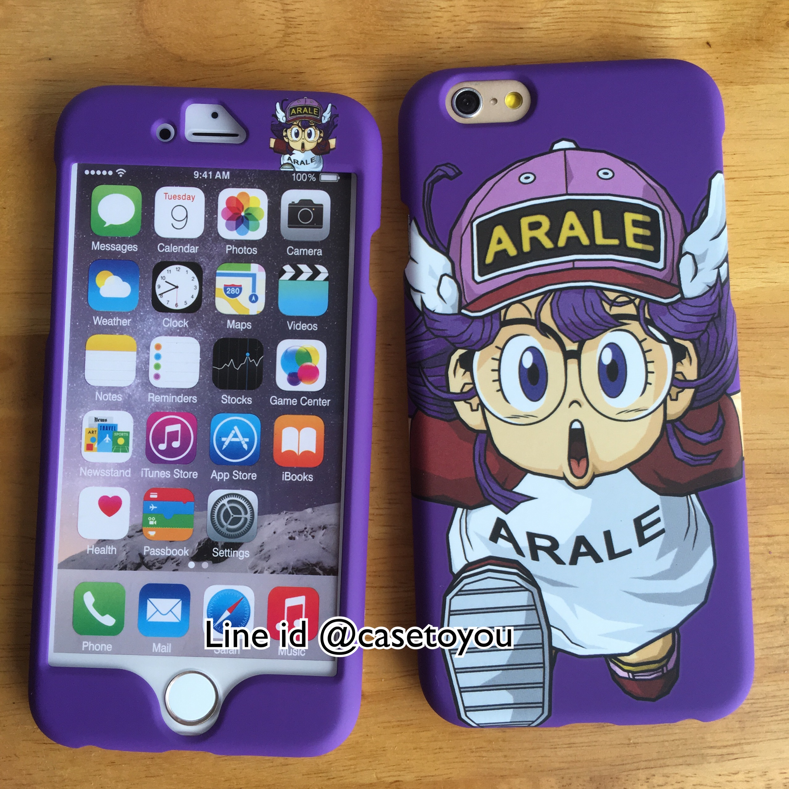 เคสประกบหน้า-หลัง Arale iPhone 6/6S