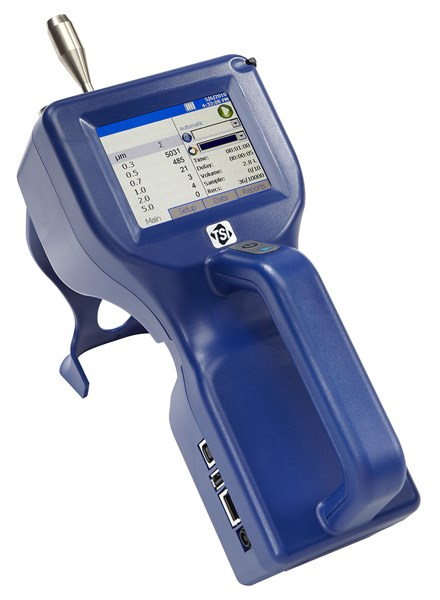3 in 1 เครื่องวัดอนุภาค หรือ เครื่องวัดปริมาณฝุ่น อุณหภูมิ ความชื้น Madein Usa (Particle Counter Laser Temperature Humidity Meter) รุ่น TSI 9306 ราคาเอง