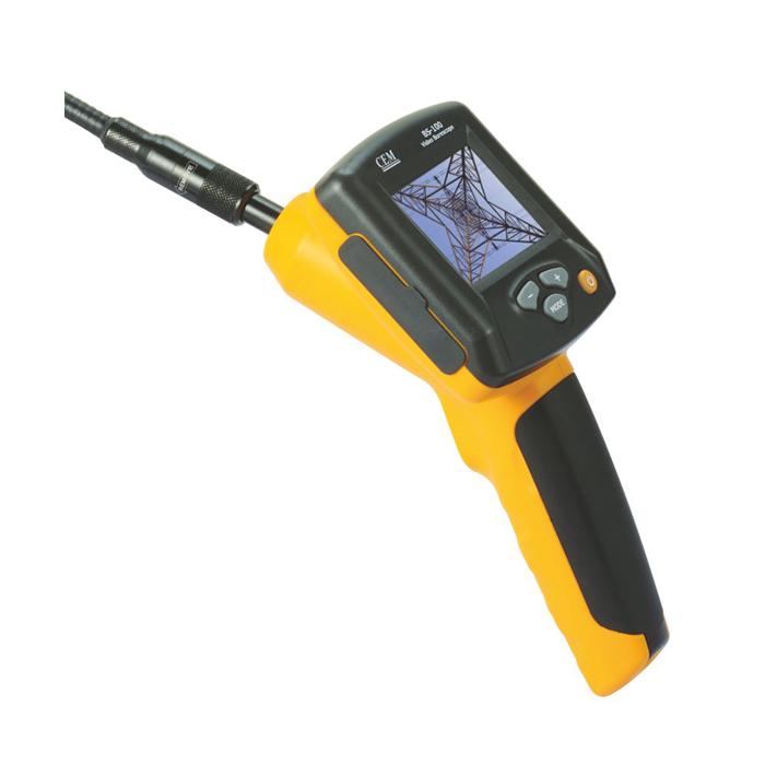 Video Borescope ราคากันเอง (กล้องตรวจสอบในท่อ หรือกล้องงู) ขนาดเส้นผ่านศูนย์กลางท่อ 17 mm. ยาว 15 เซนติเมตร รุ่น CEM BS-100