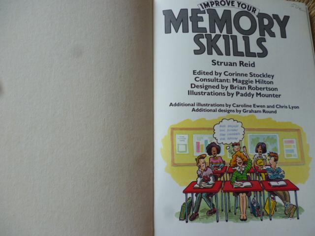 Improve Your Memory Skills Usborne Superskills