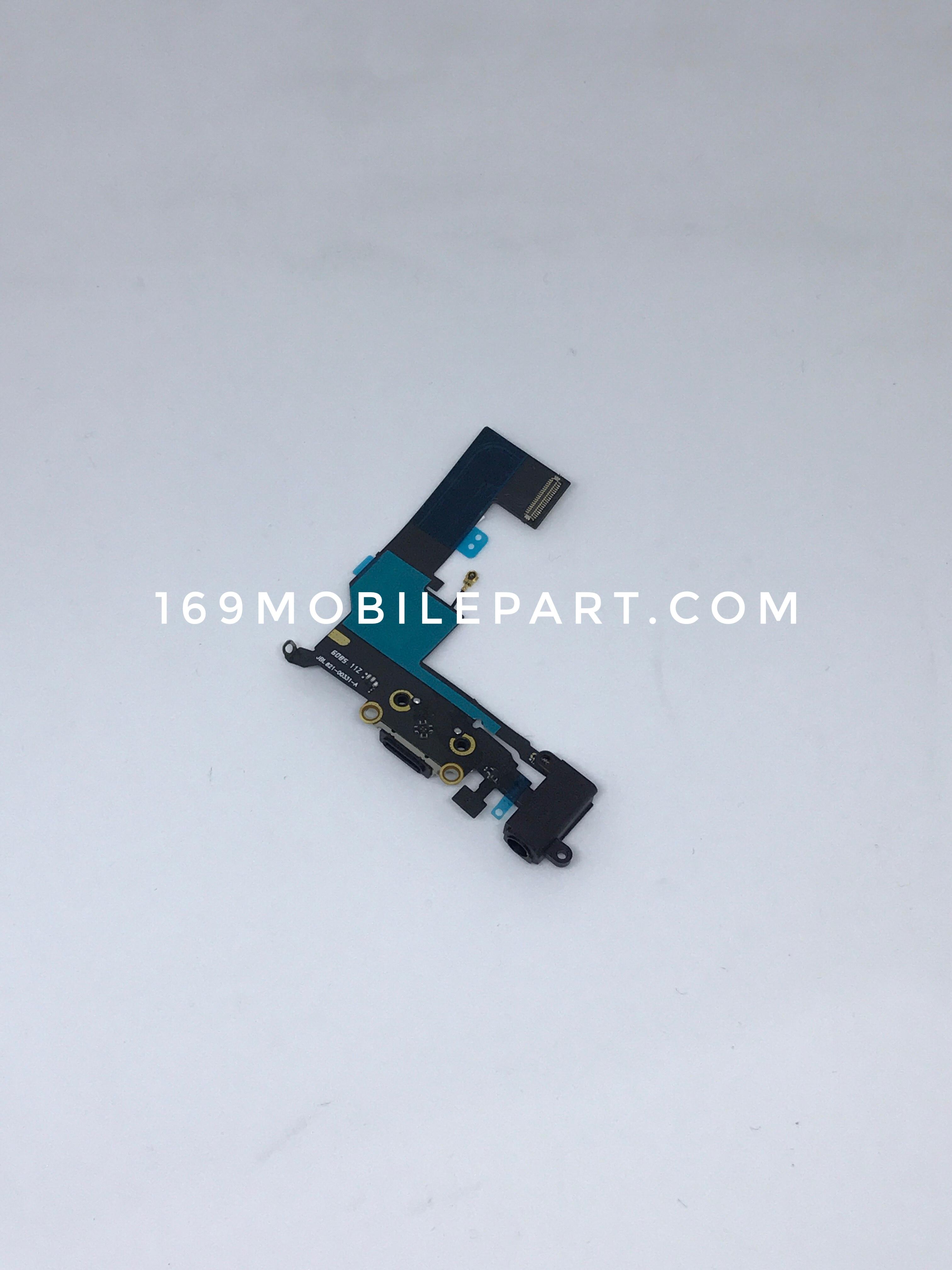 แพร USB + Mic ล่าง iPhone SE สีดำ