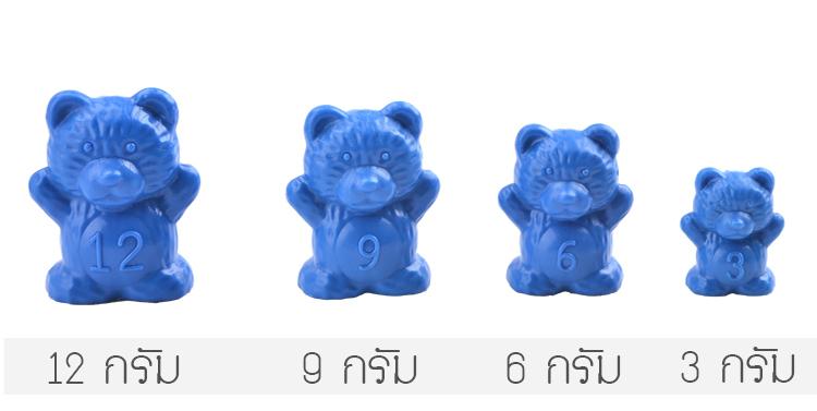 ตาชั่งหมี,ตาชั่งหมีสอนสมดุล,ของเล่นแนวติวสอบสาธิต,math balance