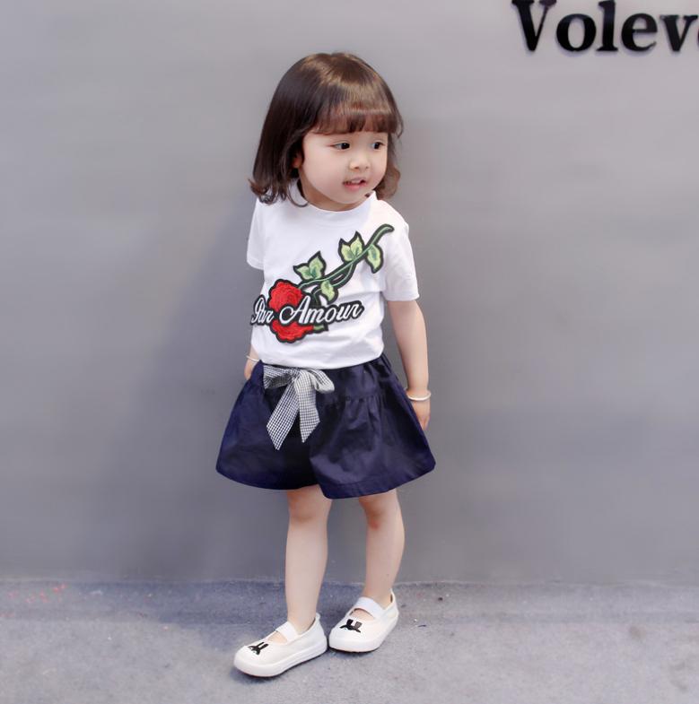 เสื้อ+กางเกง สีขาว (น้องอายุ 6 เดือน - 4 ปี)