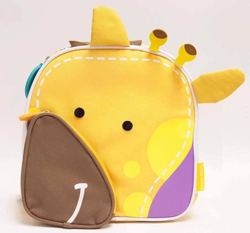 INSULATED LUNCH BAG ( giraffe )