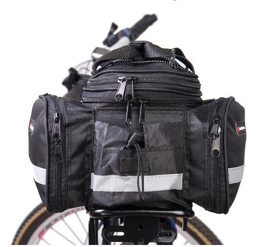 กระเป๋าเก็บของ ขยายได้ สำหรับจักรยาน