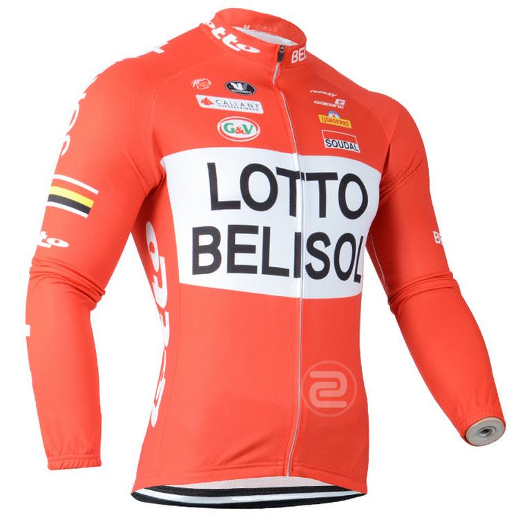 เสื้อปั่นจักรยาน แขนยาว Lotto พร้อมส่ง