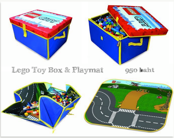 Lego Toy Box & Playmat