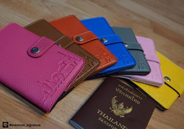 ▪The Signature Passport Holder▪ ปกพาสปอร์ต
