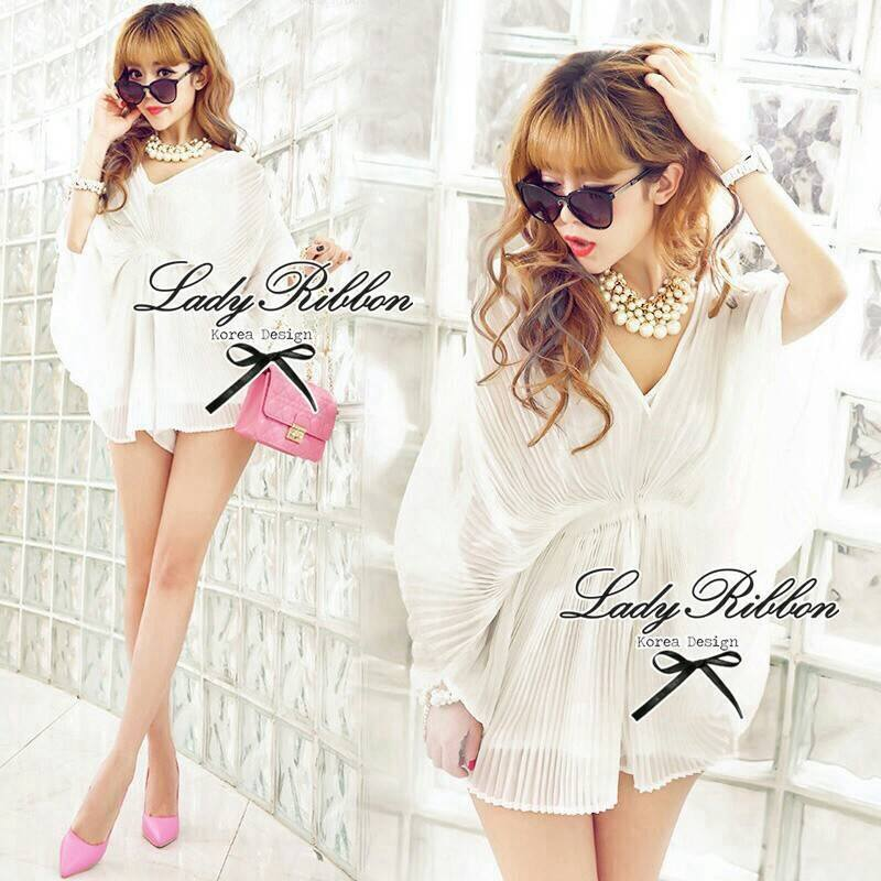 Lady Annabelle Sexy Pleated Playsuit L131-75E03