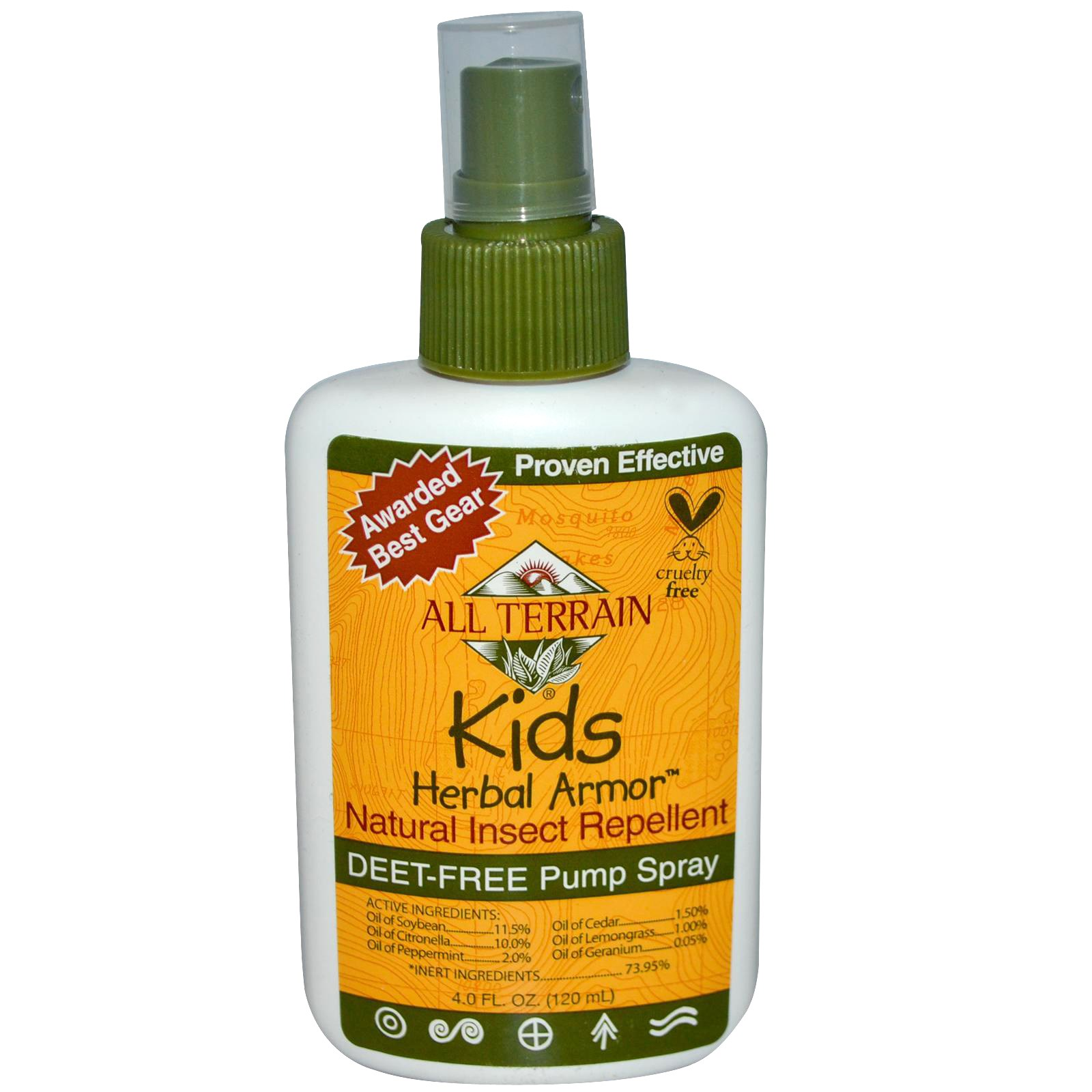 All Terrain Kids Herbal Armor 120mL