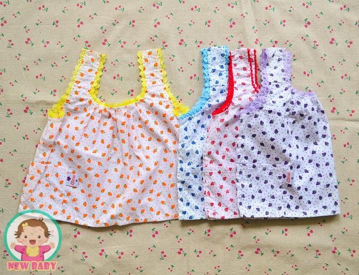 ไซส์ 3-4 ปี เสื้อคอกระเช้าเด็ก