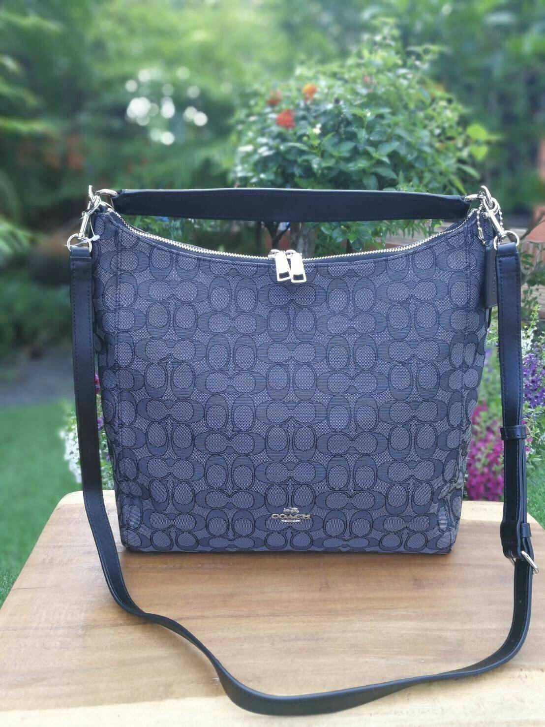 COACH F58327 CELESTE CONVERTIBLE HOBO IN OUTLINE SIGNATURE แท้ พร้อมส่ง