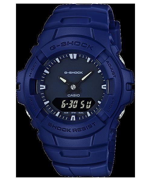 นาฬิกาข้อมือ CASIO G-SHOCK STANDARD ANALOG-DIGITAL รุ่น G-100CU-2A