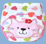 กางเกงฝึกฉี่ (เป้าหนา3ชั้น) size L -Cat