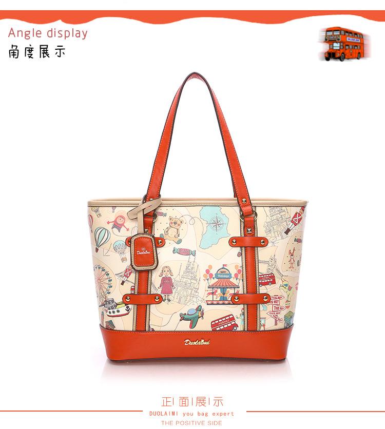 กระเป๋า Fashion pastel ทรง Tote bag สีสันสดใส ให้ลุคคุณหนู ตัดเย็บด้วยวัสดุคุณภาพ พร้อมเก็บชองจุใจ ใช้เป็นใบหลัก ใบสำรอง สบายๆเลยค่ะ ทรงหมอนใช้ง่ายเข้าได้กับทุกลุค #ใบนี้โอเลย