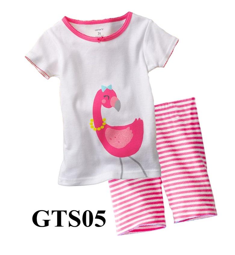 GTS05 เสื้อแขนสั้น+กางเกงขาสั้น Size 24M 3T ผ้า cotton หนา นิ่ม ยืดหยุ่น เนื้อผ้าดีมาก ใส่สบาย