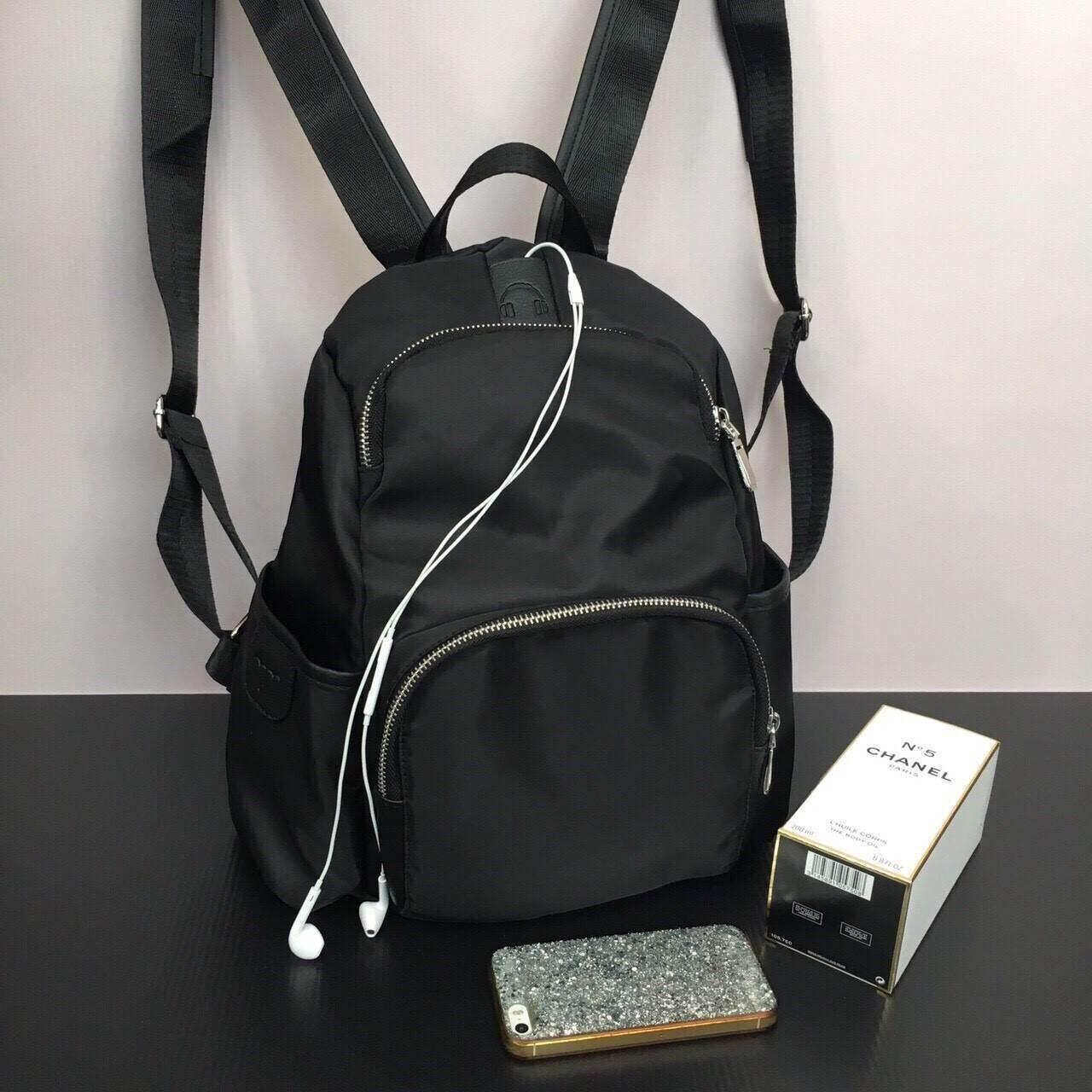 Berke Nylon Backpack 2017 สีดำ #เป้ไม่กลัวเปียก #สายฟังเพลงไม่ควรพลาด