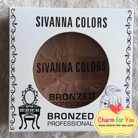ซีเวนน่า บรอนเซอร์ SIVANNA COLORS BRONZED PROFESSIONAL เบอร์ 03 จำหน่ายเครื่องสำอางราคาถูก
