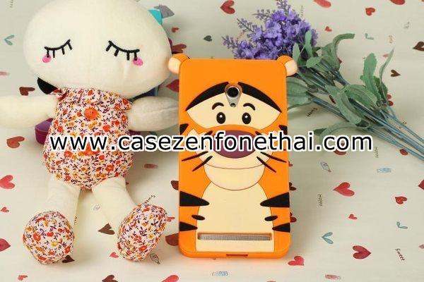 เคส asus zenfone 6 ซิลิโคน การ์ตูน 3D Tigger Tiger