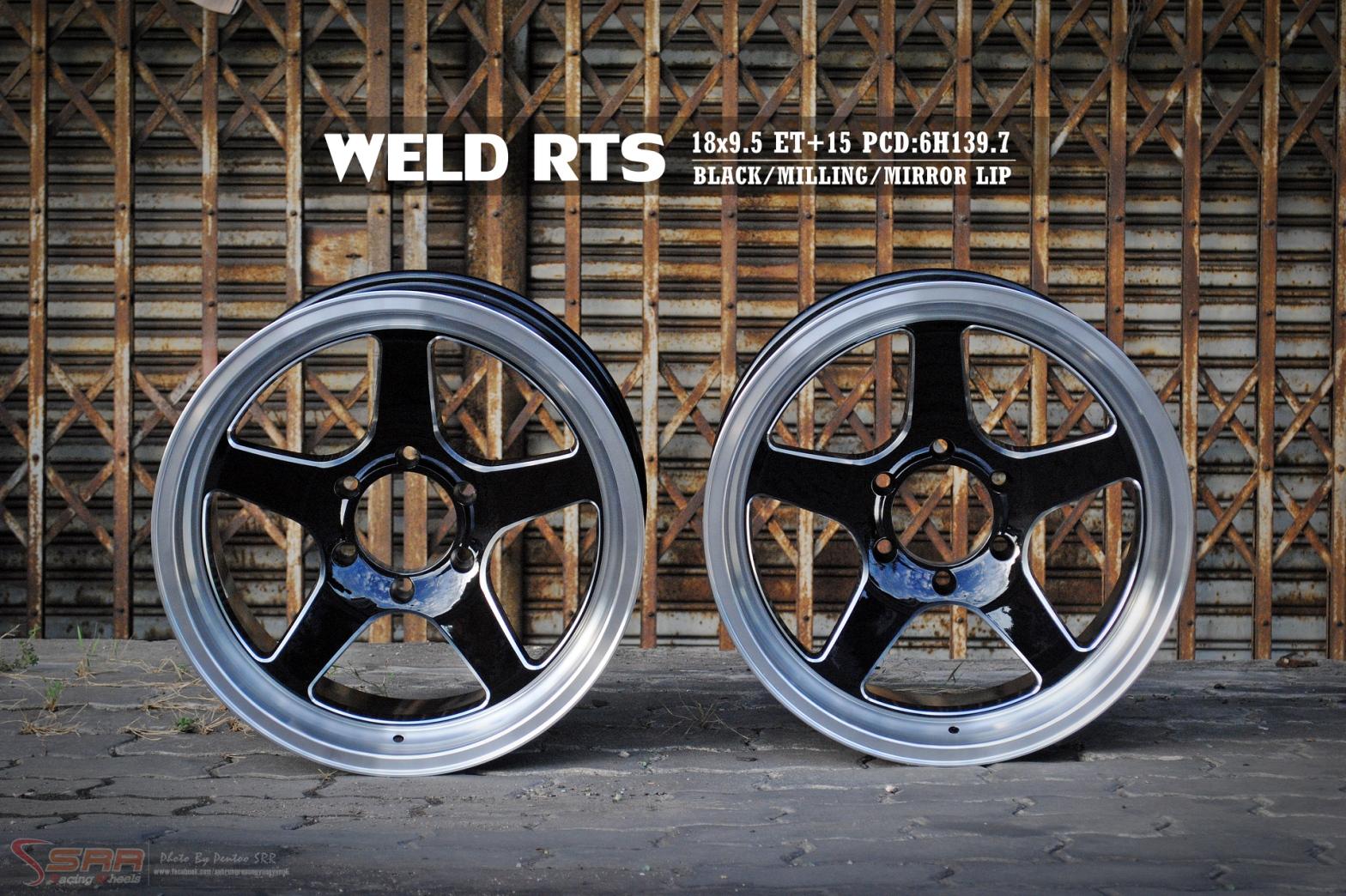 """WELD 18""""พร้อมยาง GT CHAMPIRO HPY โปรโมรชั่นถูกๆ"""