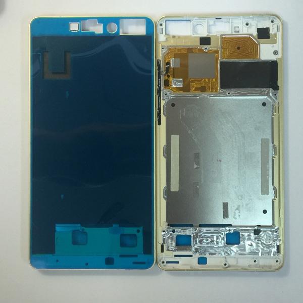 ขอบเฟรมเคสกลาง รองจอ รองบอร์ด Xiaomi Mi Note PRO สีทอง